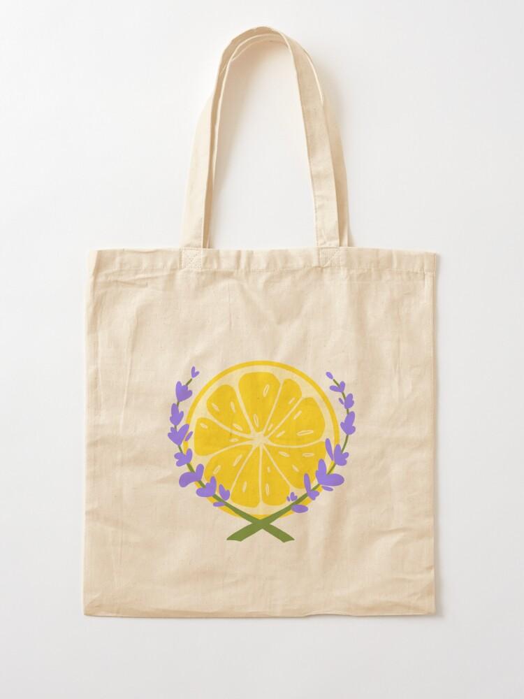 Alternate view of Lavender Lemonade Logo Tote Bag