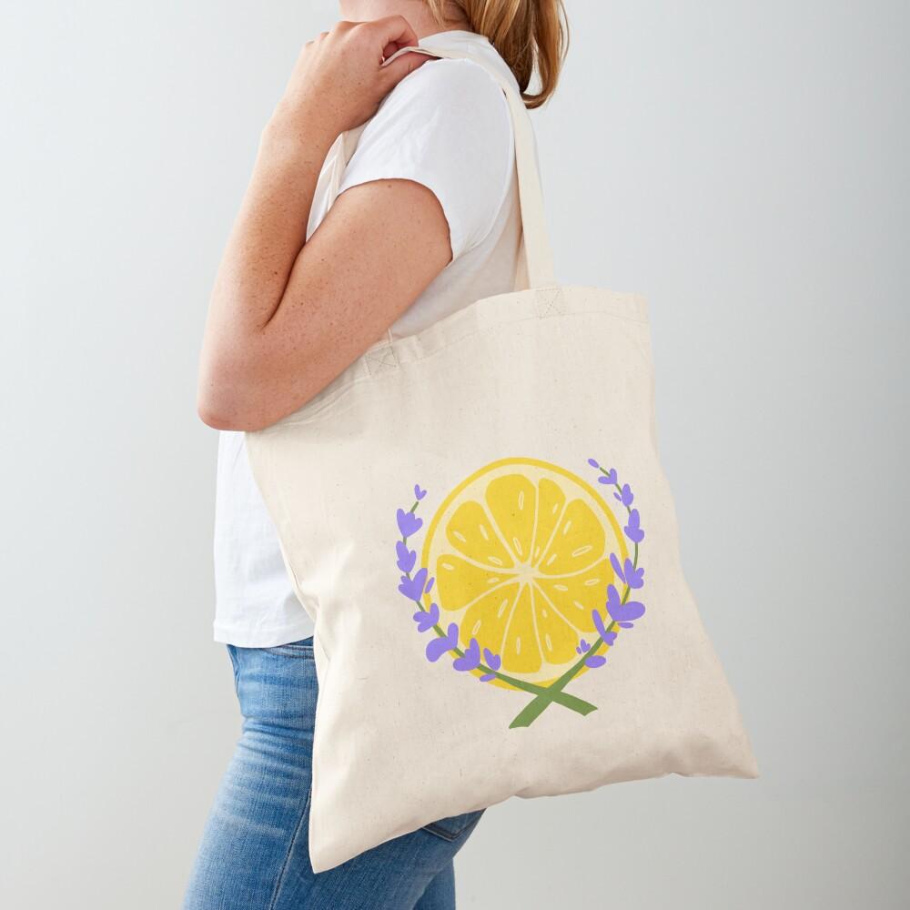 Lavender Lemonade Logo Tote Bag