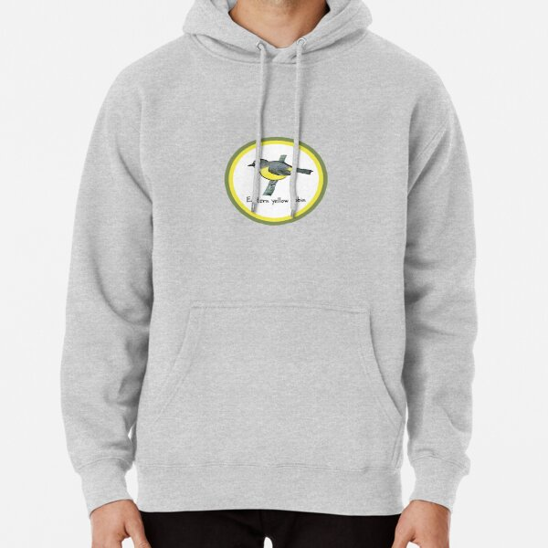 Eastern yellow robin - Raising funds for Bush Heritage Australia Pullover Hoodie