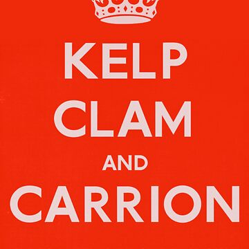"""Kelp, Clam and Carrion,"" 1941 by TVGC"