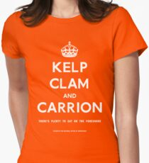 """Kelp, Clam and Carrion,"" 1941 Women's Fitted T-Shirt"