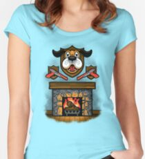 Who's Laughing Now? Women's Fitted Scoop T-Shirt
