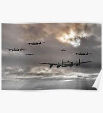 Lancaster Raid Poster