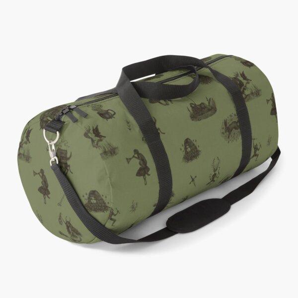 Folk Horror in green Duffle Bag