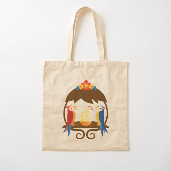 Disney Inspired Tropical Tiki Gift 3 Sizes Available Machine Washable Tiki Room Canvas Tote Bags /& Purses