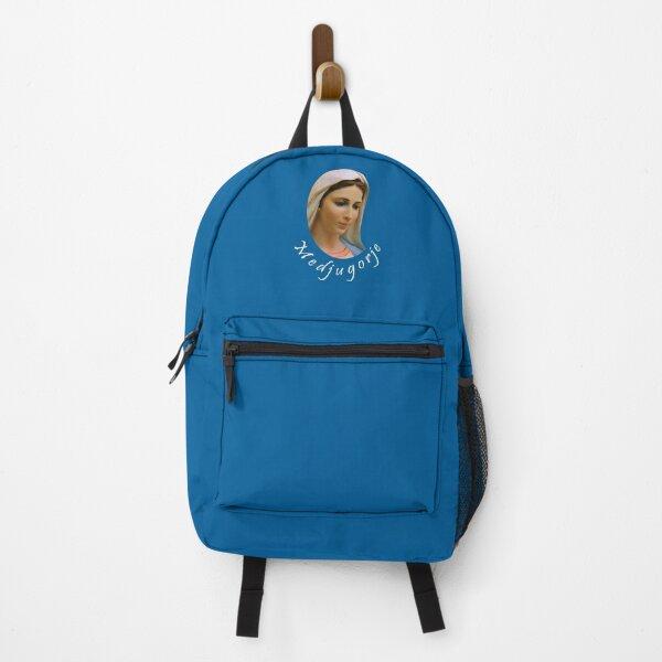 Virgin Mary Totus Tuus Medjugorje Backpack