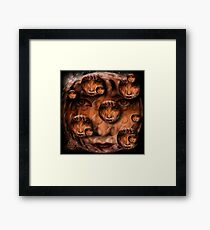multifaceted woman Framed Print