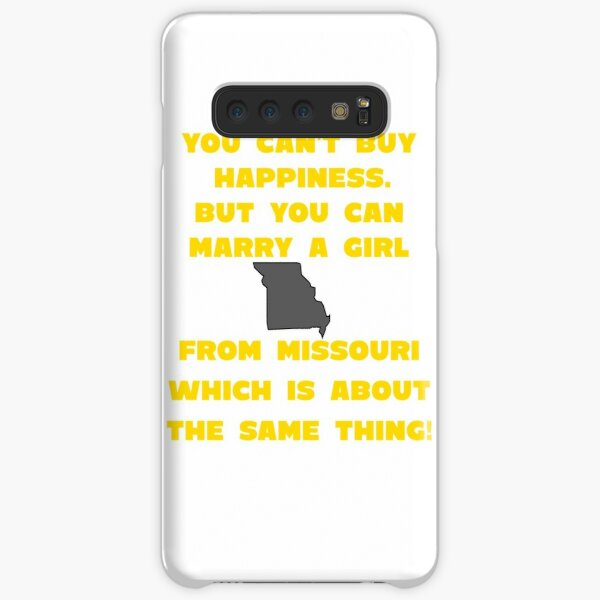 Marry Girl From Missouri Samsung Galaxy Snap Case