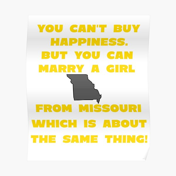 Marry Girl From Missouri Poster