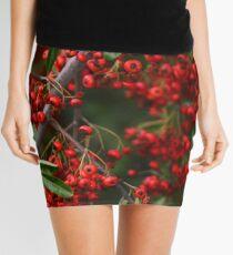 Pyracantha Berries Mini Skirt