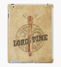 Steampunk Sonic Screwdriver iPad Case/Skin