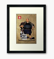 Iaido's for Pussies Framed Print