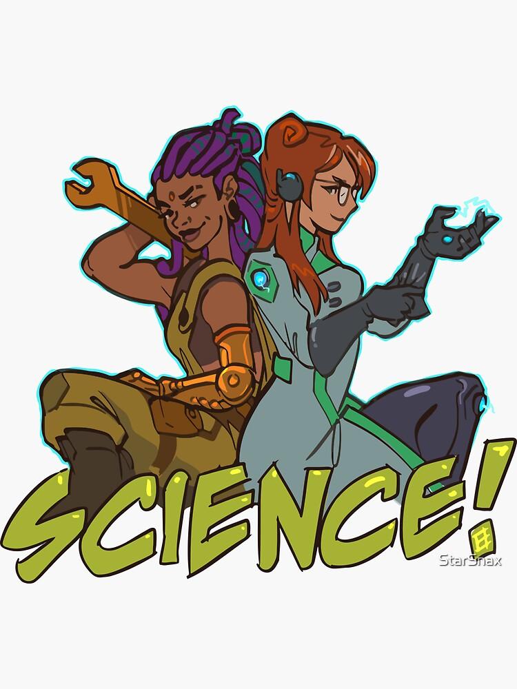SCIENCE! Girlfriends by StarSnax