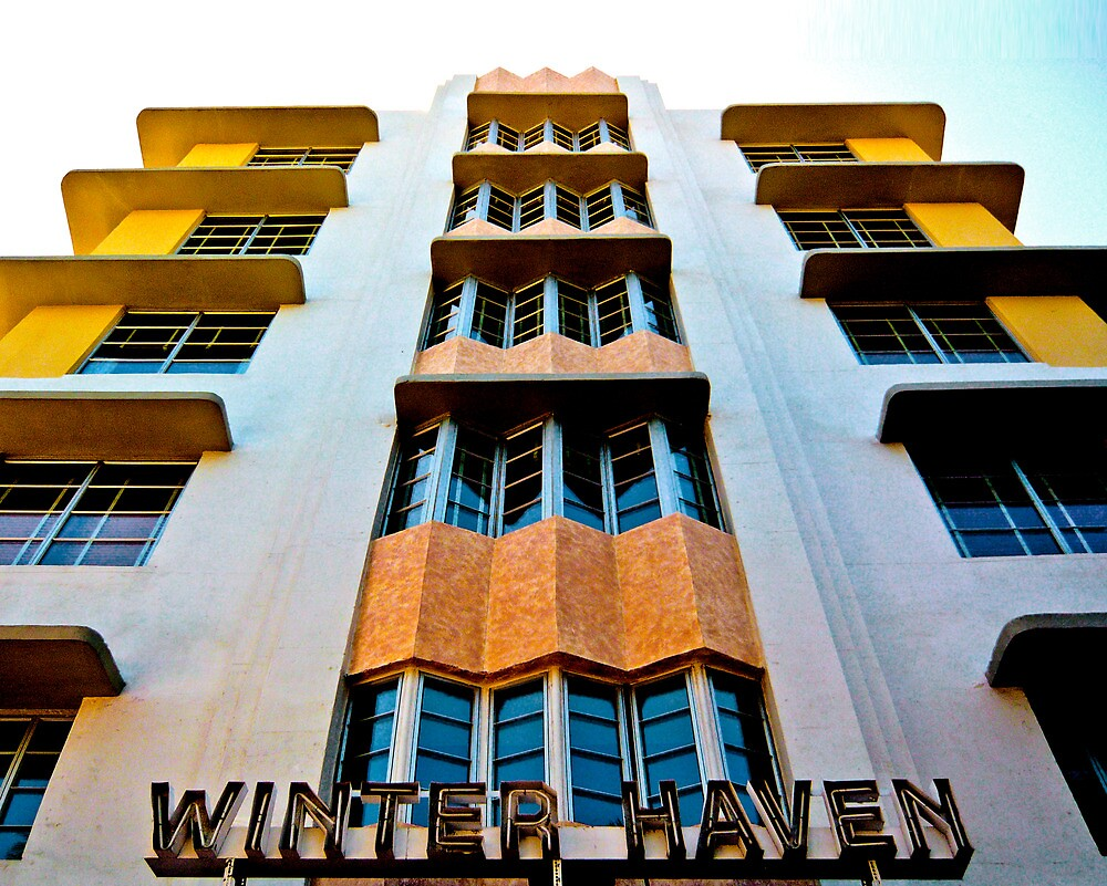 WINTER HAVEN HOTEL SOUTH BEACH FLORIDA by Thomas Barker-Detwiler