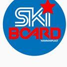 Hammarplast Ski-Board Logo by illicitsnow