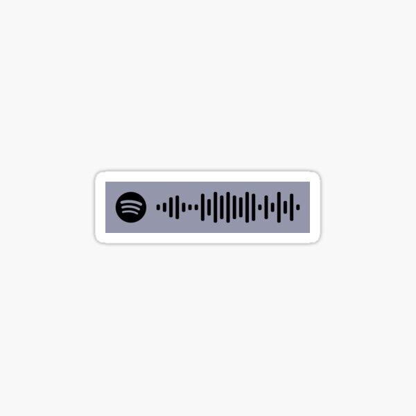 505 by Arctic Monkeys Spotify Code Sticker
