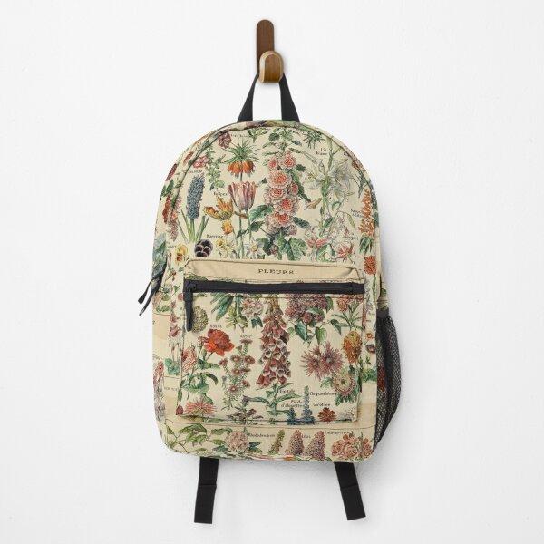 Vintage Flower Poster Backpack