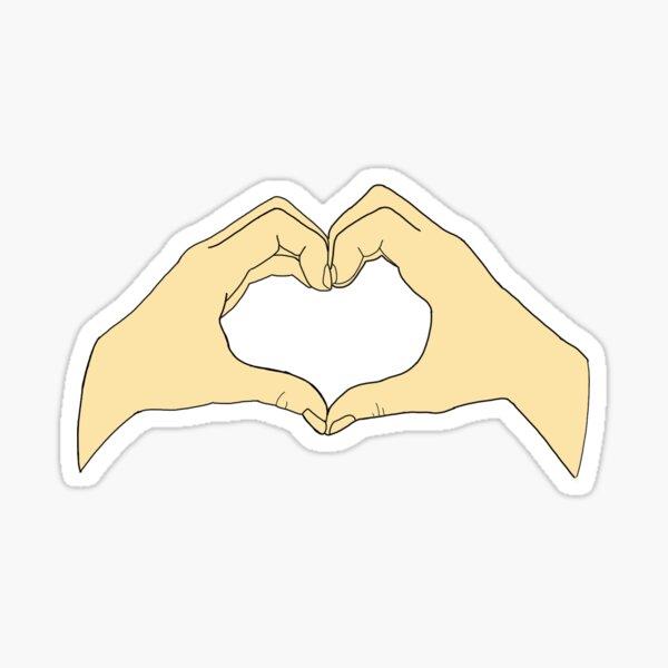 Heart in Your Hands Sticker