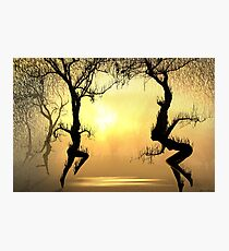 Fiery Dance Photographic Print