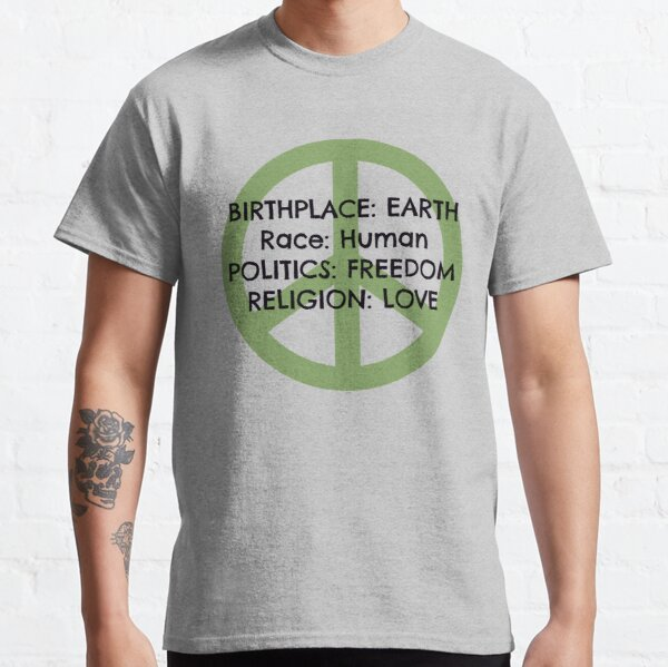 Birthplace: Earth Classic T-Shirt