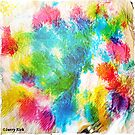 'SPRINGTIME ABSTRACTION' by Jerry Kirk