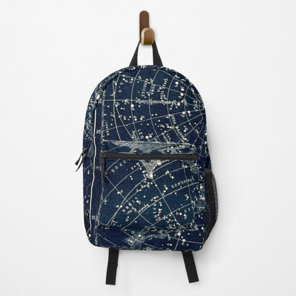 THE STAR CONSTELLATIONS : Vintage 1900 Galaxy Print Backpack