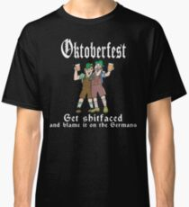 Oktoberfest Get Shit Faced Classic T-Shirt