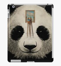 Panda window cleaner 03 iPad Case/Skin