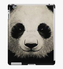 panda eyes 02 iPad Case/Skin