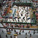 Lego Rockefeller Center Skating Rink,  Rockefeller Center Lego Store, New York City by lenspiro