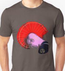 Red Mohawk Punk T-Shirt
