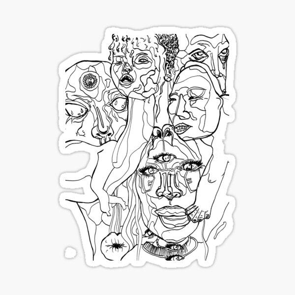 My Little Monsters, ft Lori Lightfoot Sticker