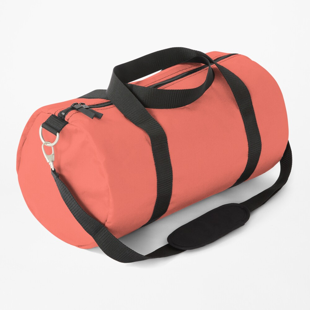 Living Coral 16-1546 TCX   Pantone Color of the Year 2019   Pantone   Color Trends   New York and London   Solid Color   Fashion Colors    Duffle Bag