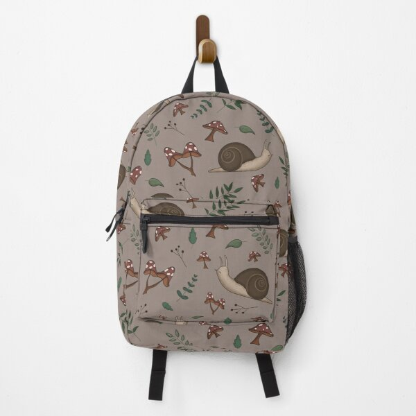 Cottagecore Snails Backpack