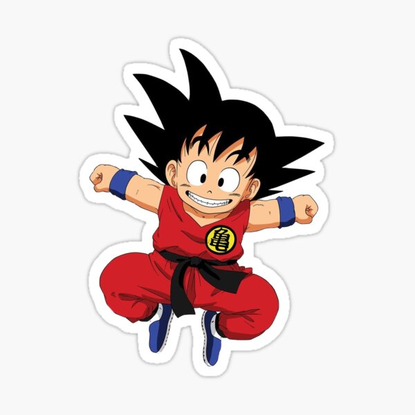 Goku Anime Sticker (Dragon Ball Z) Sticker