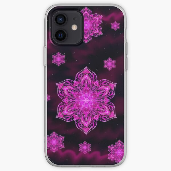 Starry Snow Spiral iPhone Soft Case