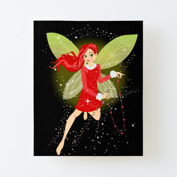 Holly In A Fairy Tale Christmas™ Canvas Mounted Print
