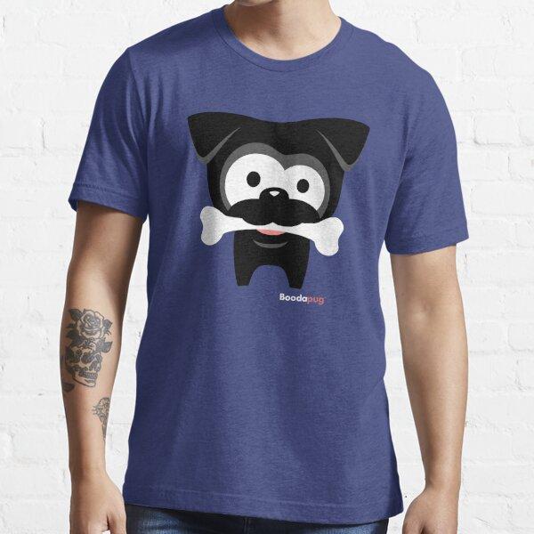 Black Pug Bone! Wear Essential T-Shirt