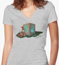Pandorable (FULL) Women's Fitted V-Neck T-Shirt