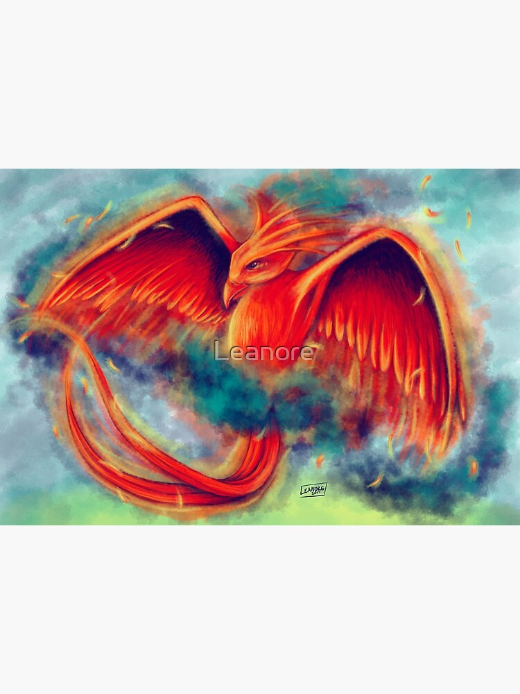 Phoenix in Flight by Leanore