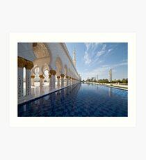Sheikh Zayed Grand Mosque Art Print