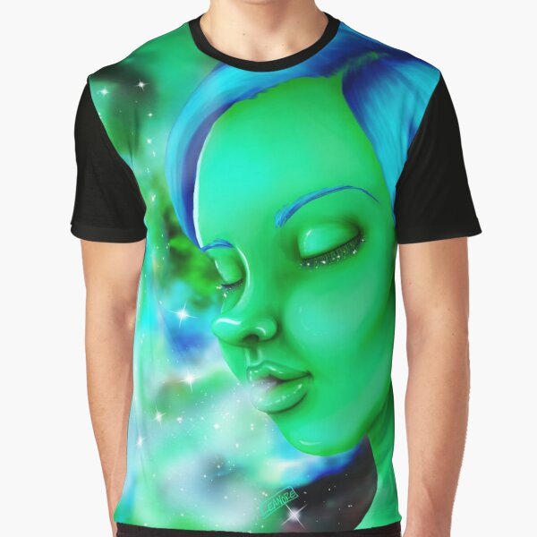 Stoned in Space Graphic T-Shirt