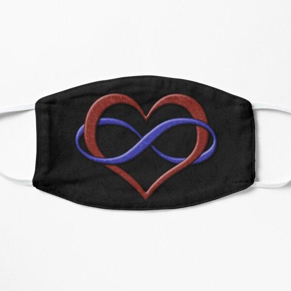 Polyamory Pride Infinity Heart Mask