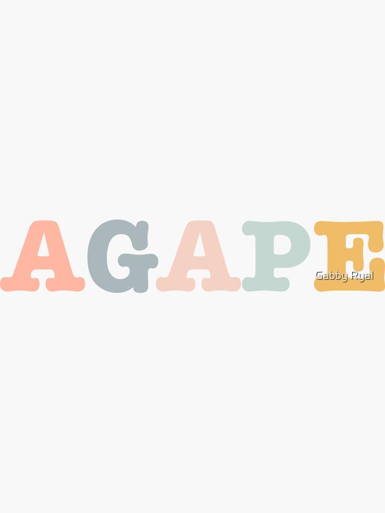 Agape Love by gjryal