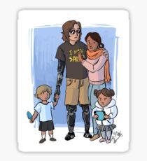 Skywalker Family Sticker