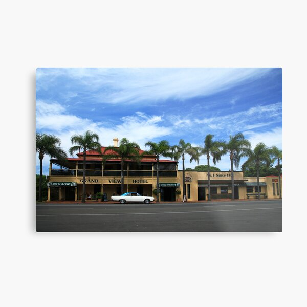 The Grand View Hotel Cleveland Metal Print