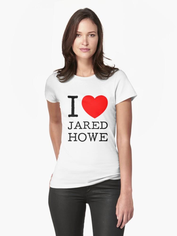 I LOVE JARED HOWE (black type) by freakysteve