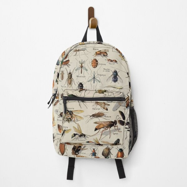 Adolphe Millot insectes Backpack