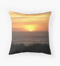 Washington Sunset Throw Pillow
