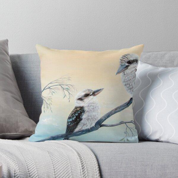 Kookaburra Charm Throw Pillow